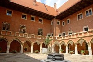 Dziedziniec Collegium Maius Akademii Krakowskiej
