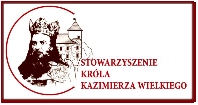 Logo - Stowarzyszenia Miast Króla Kazimierza Wielkiego